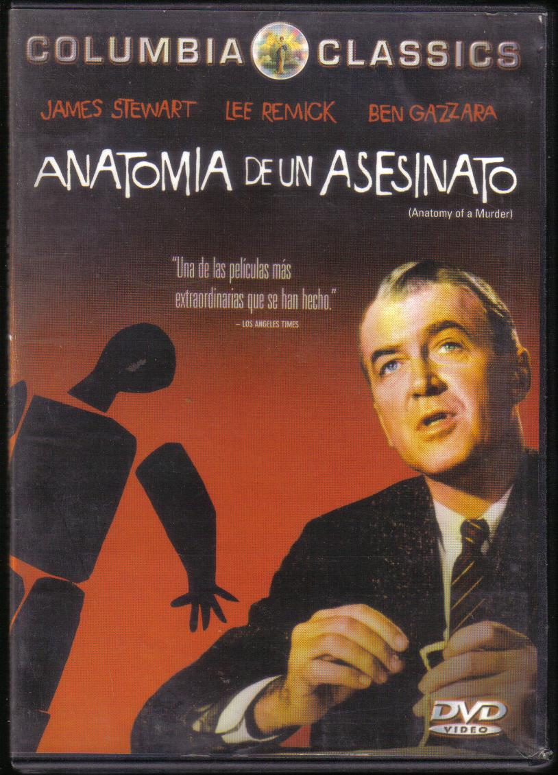 El extranjero » Blog Archive » Anatomía de un asesinato (1959) – DVD