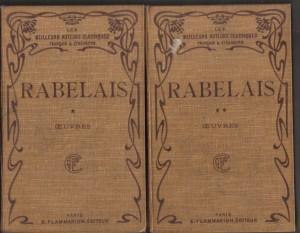 Oeuvres. Les cinq livres, de Francois Rabelais1