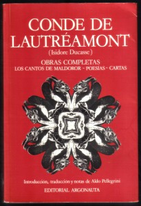 Obras completas Ed. Argonauta, Lautréamont , 001
