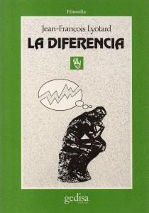 La diferencia, Lyotard121