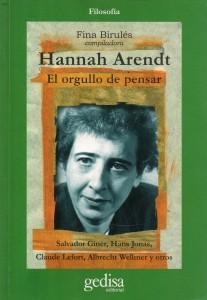 Hannah Arendt El orgullo de pensar130