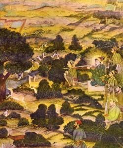 Pintura islámica e india194