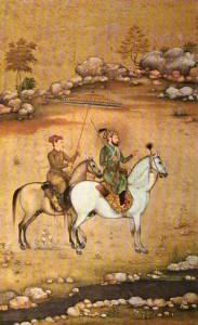 Pintura islámica e india197