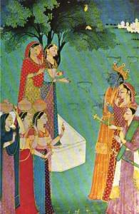 Pintura islámica e india198