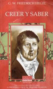Creer y saber, Hegel007