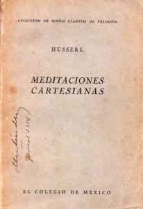 Meditciones Cartesianas, Husserl374