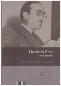 Deodoro Roca Obra reunida 3
