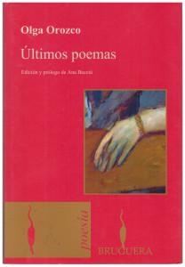 Ultimos poemas, Orozco