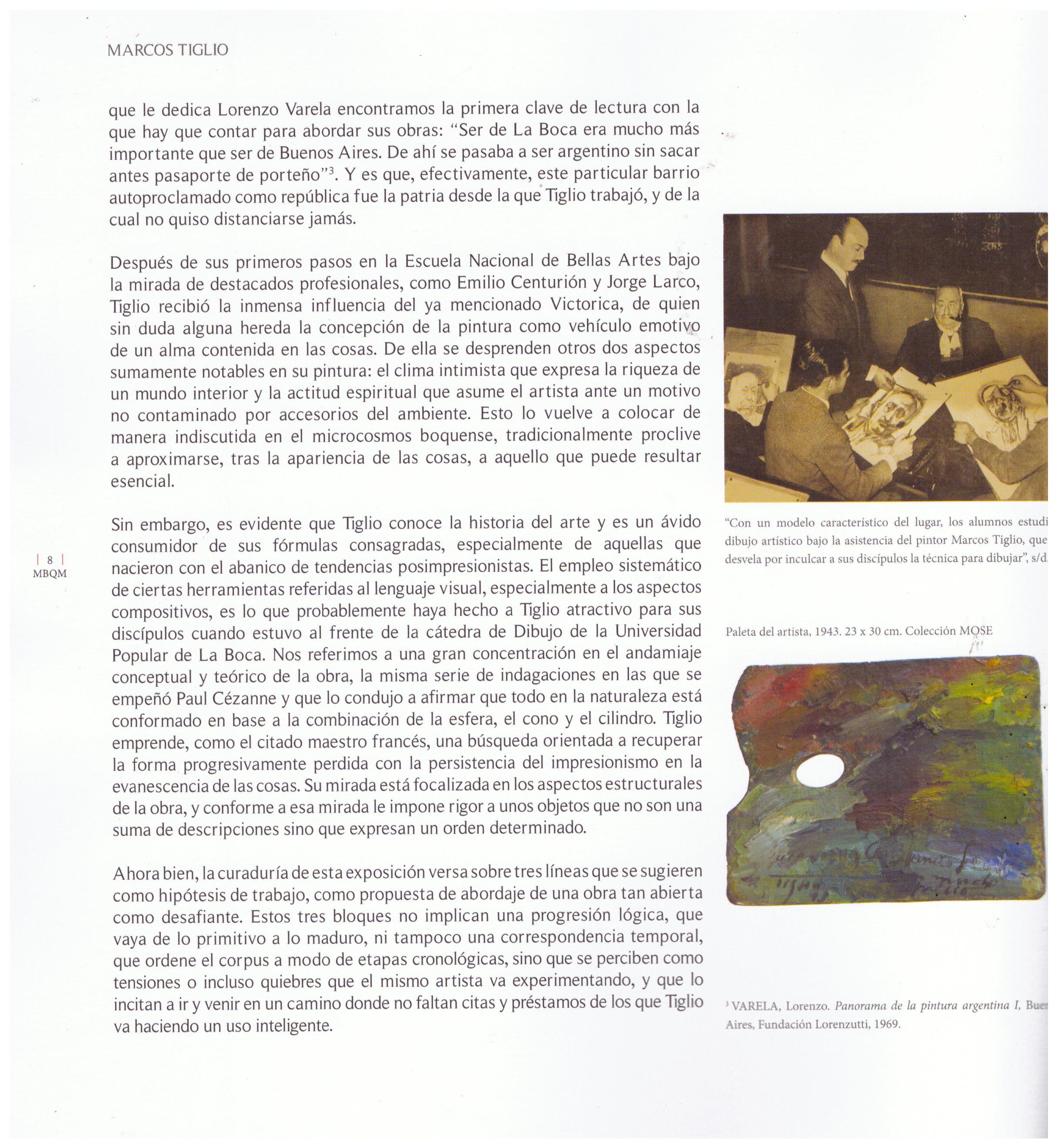 El extranjero » Blog Archive » Marcos Tiglio. La razón sensible